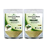 Nutriherbs 100% Pure And Natural Green Coffee Beans Powder For Weight Loss 200Gm (Pack of 2)