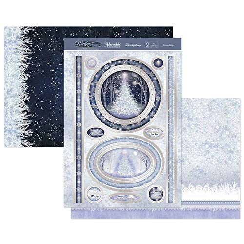 Hunkydory Crafts Christmas 2020 WInter WIshes- Shining Bright SNOWY20-908