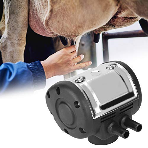 Sheens Pulsador neumático de Acero Inoxidable Pieza Ajustable para ordeñar Vacas y Cabras con Dos Salidas para ordeñadoras para Vacas y ovejas