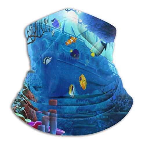 KDU Fashion 12-in-1 sweatband, de Underwater World Neck band, uv-beschermd gelaatsbeschermers voor atletic Sporting Gym