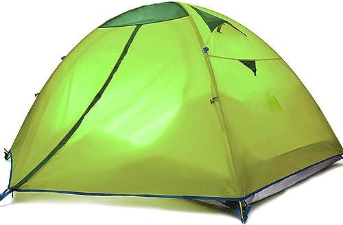 LYN Tente de Camping, Tente de randonnée pour 1 à 2 Personnes; Configuration Rapide et Facile; Tente Double Couche avec Camping Randonnée Voyage Chasse