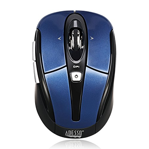 Draadloze muis Blauw