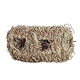 Kaninchen-Gras-Haus Alles natürliche handgewebte Gras-Tunnel-Haus