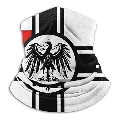 Mundbedeckung Gesichtsbedeckung Flagge des Deutschen Reiches Unisex Fleece Neck Warmer Gesichtsmaske Gesichtsschal Mundschal Neck Gamaschen Halsschal Für Erwachsene Kinder