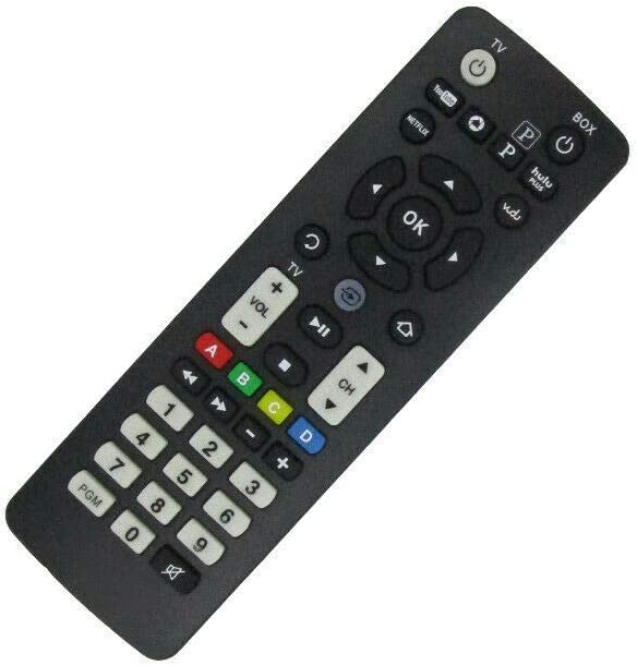 Replacement Remote Control for RCA DSB876WU-BK DSB876WU-WH DSB876WU-RD Streaming Media Player HDTV