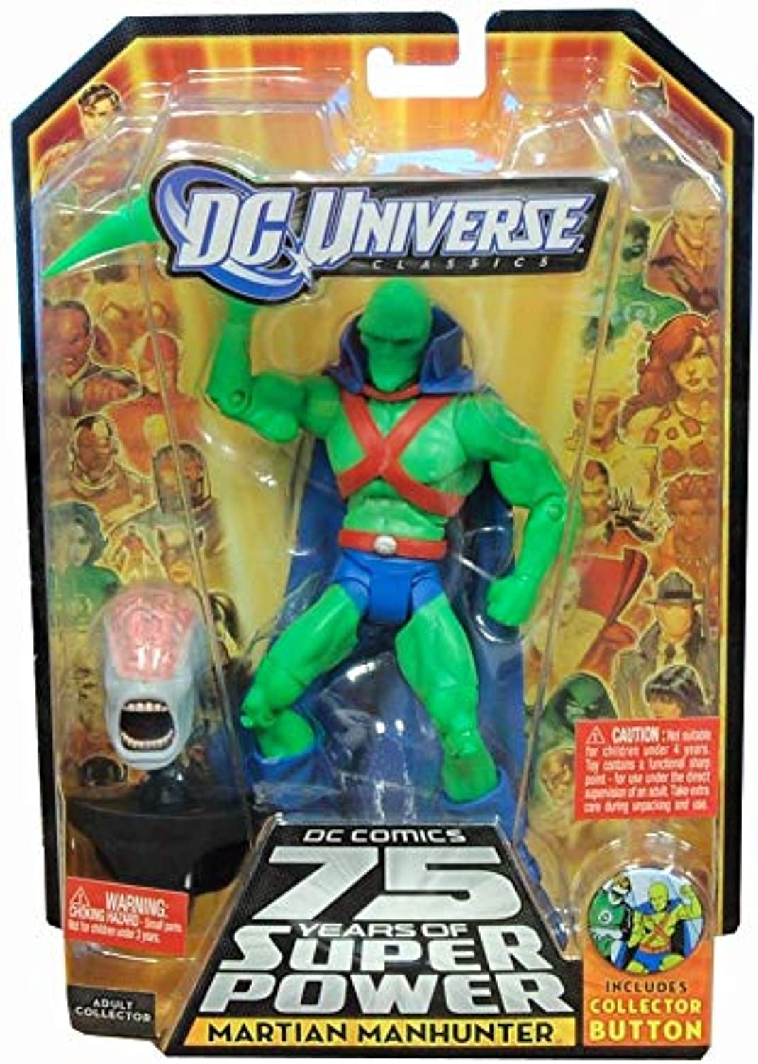 DC Universe Classics Martian Manhunter Figure w  Weapon Hand by Mattel