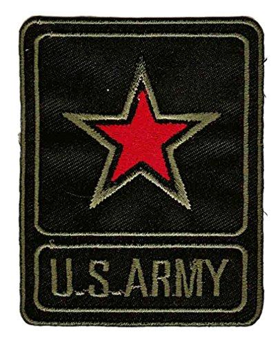 U.S. Army Stern Aufnäher Bügelbild Patch Applikation