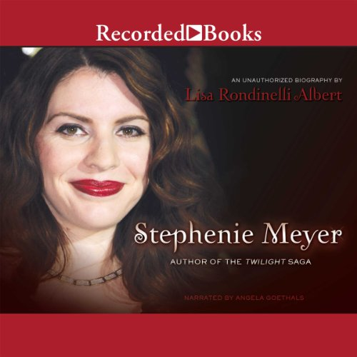Stephenie Meyer: Author of the Twilight Saga audiobook cover art