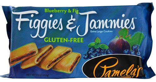 Pamela's Products Figgies & Jammies? Extra Large Cookies Gluten-Free Blueberry & Fig -- 9 oz - 2 pc