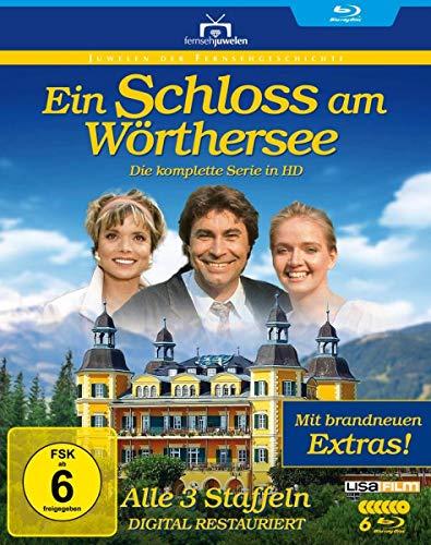 Ein Schloss am Wörthersee - HD-Komplettbox zum 30. Jubiläum (Alle 3 Staffeln + brandneue Extras) - Fernsehjuwelen [Blu-ray]