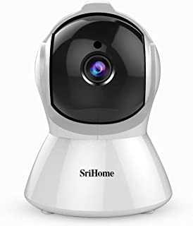 Srihome SH025 Pan/Tilt Wireless WiFi 2MP Full HD 1080p IP Security Camera CCTV with Auto Tracking