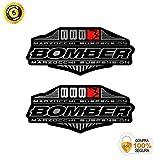 Pegatinas Horquilla para Bicicleta Modelo Bike Marzocchi Bomber 888 Suspension 2010-11 Plata 26