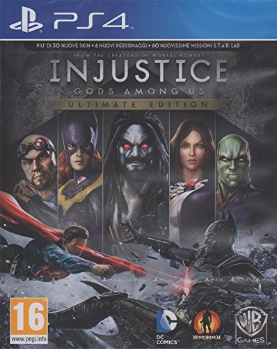 PS4 - Injustice Gods Among Us - Ultimate Edition [Edizione Italiana]