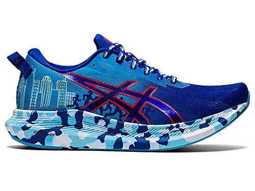 ASICS Women's Noosa Tri 13 Running Shoes, 9M, ASICS Blue/RED Alert