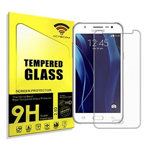 actecom® Protector DE Pantalla Compatible para Samsung Galaxy J5 J510F 2016 Cristal Vidrio Templado