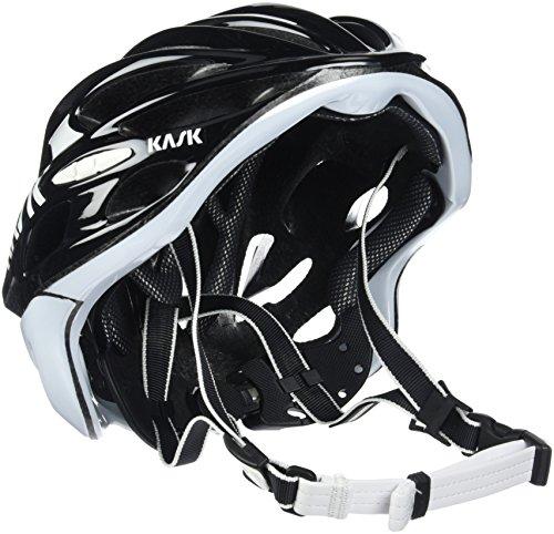 Kask Mojito 16 - Casco para bicicleta - Mixto para adultos, Multicolor (schwarz/weiß), M (52-58 cm)