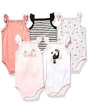 ملابس اطفال قطنية قطعة واحدة بدون اكمام للجنسين من هدسون