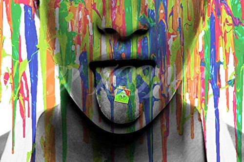 Lsd Psychedelic Acid Kunstdruck Foto Poster–30,5x 20,3cm (A4)–Top Qualität–Albert Hofmann