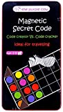 The Purple Cow Magnetic Secret Code Board Game for Kids. Crack The Secret Code. Travel Size - Ideal for Travelling and Have Fun for Kids & Adults. Magnetic Secret Code