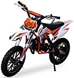 Kinder Mini Crossbike Gazelle 49 cc 2-takt inklusive Tuning Kupplung 15mm Vergaser Easy Pull Start...