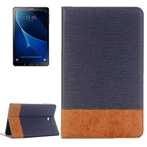 Dmtrab para Para Samsung Galaxy Tab A 10.1 / T580 Caja de la Billetera, Funda de Cuero Horizontal Flip Horizontal Funda con Soporte y Ranuras para Tarjeta (café) Casos de la Tableta Galaxy