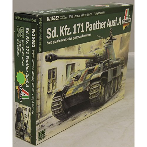 Carson 510015652–1 : 56/28 mm DT Sdkfz 171 Panther Ausfuhrung A, Shield