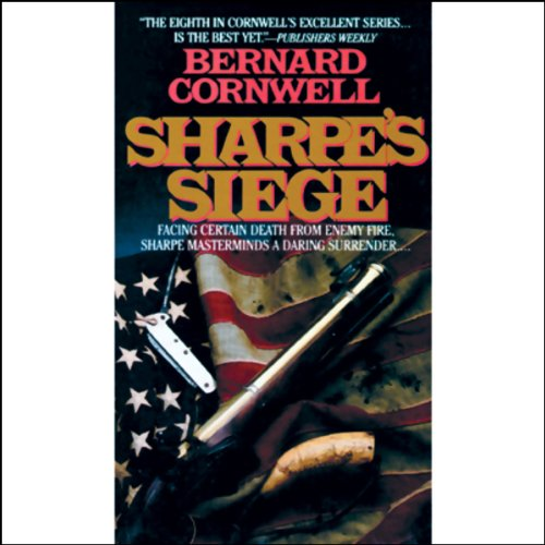 Sharpe's Siege audiobook cover art