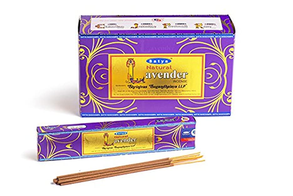 ナース衣類コーチSatya. Shriniwas Sugandhalaya 天然ラベンダー線香 フルボックス 180GM