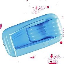 LIYONG Piscina hinchable Bañera hinchable grande barril de baño para adultos Aislamiento piscina hinchable (color : B) HLSJ