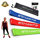 Athleema Set of 3 Loop Resistance Bands 10' X 2'