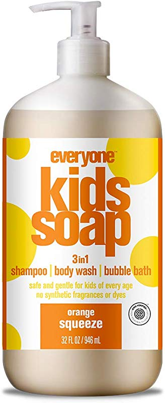 Everyone Soap For Every Kid Orange Squeeze 32 Ounce