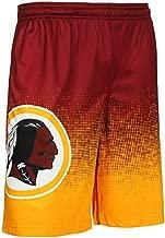 FOCO Men's Football Team Gradient Big Logo Training Shorts, Color, Large