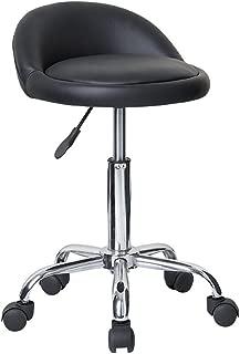 Modernhome Juno Adjustable Height Massage Stool w/Wheels