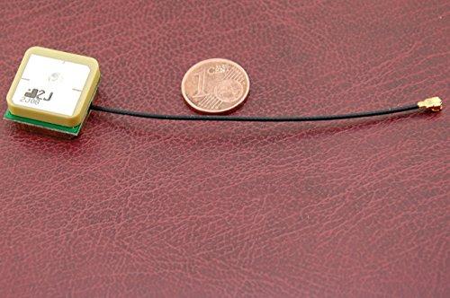 Alda PQ antenne voor gebruik in de SMD-technologie voor GPS met GSC-stekker