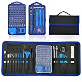 Jaronx 134 in 1 Precision Screwdriver Set with 98 Bits,Professional Screwdriver Kit Electronics Repair Tool Kit with Portable Bag for...