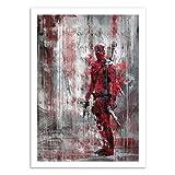 Wall Editions Art-Poster - Deadpool - Wisesnail