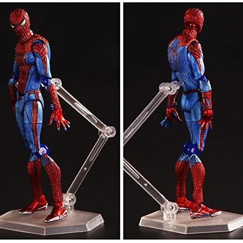 HUANIU Estatuas de Juguete Superhéroe del Animado De Juguete Estatua De Spider-Man...