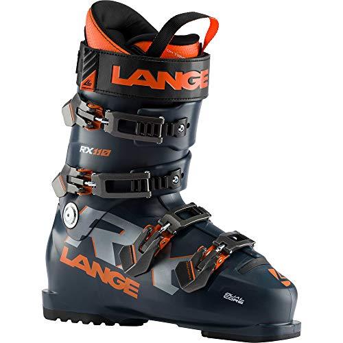 LANGE RX 110 Skischuhe, Dunkelblau/Orange, 280