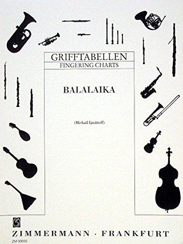 Zimmermann - Grifftabelle für Balalaika - Michael Ignatieff