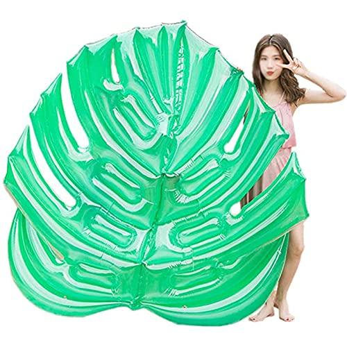 Balsa Inflable para Adultos, Silla de Cubierta Inflable de Agua Verde Grande, Cama Flotante, Juguetes de Fiesta de Playa para niños