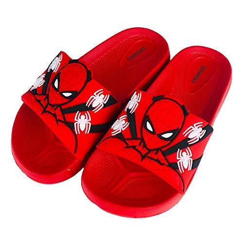 Marvel Spiderman 2763 Badeschuhe für Kinder, Rot - rot - Größe: 25/26 EU