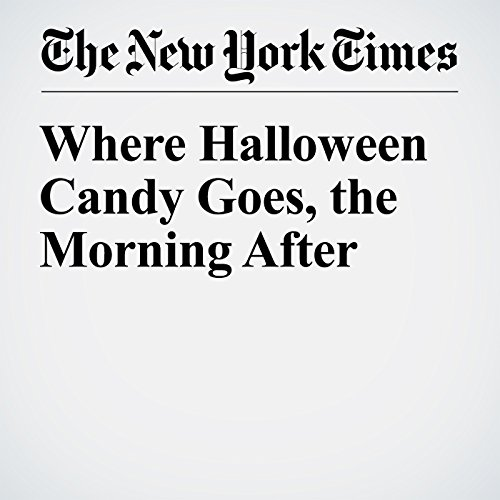 Where Halloween Candy Goes, the Morning After audiobook cover art