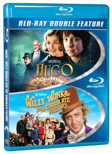 Hugo / Willy Wonka & the Chocolate Factory [Blu-ray]