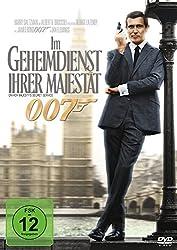 DVD-Cover von James Bond Im Geheimdienst Ihrer Majestät 007