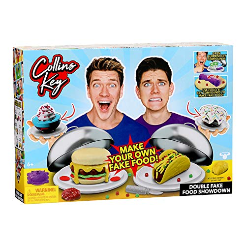 Collins Key Fake Food Challenge Showdown - 2 Pack $4.99
