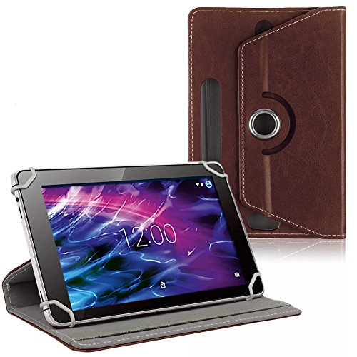 na-commerce Medion Lifetab S10352 S10366 P10356 P10326 Tablet Tasche Schutzhülle Cover Braun