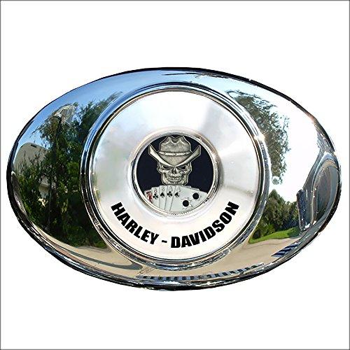 MotorDog69 Dead Man's Hand Harley Air Cleaner Coin Mount Set…