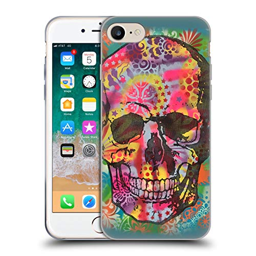 Head Case Designs Oficial Dean Russo Calavera 1UP Cultura Pop 2 Carcasa de Gel de Silicona Compatible con Apple iPhone 7 / iPhone 8 / iPhone SE 2020