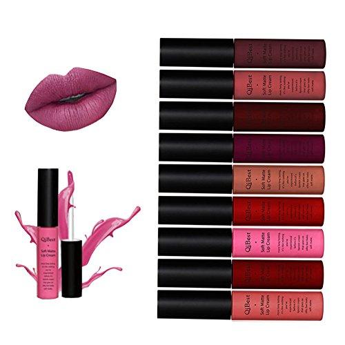 ROPALIA Matte Lipstick Set KINUT Long Lasting 24 Hour Waterproof Liquid Lip Gloss …