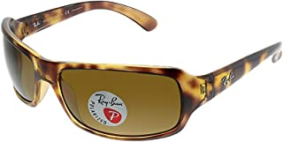 Ray-Ban Women's Polarized Highstreet RB4075-642/57-61 mm